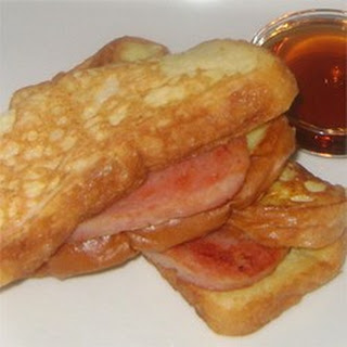 French Toast and Spam Sandwiches.