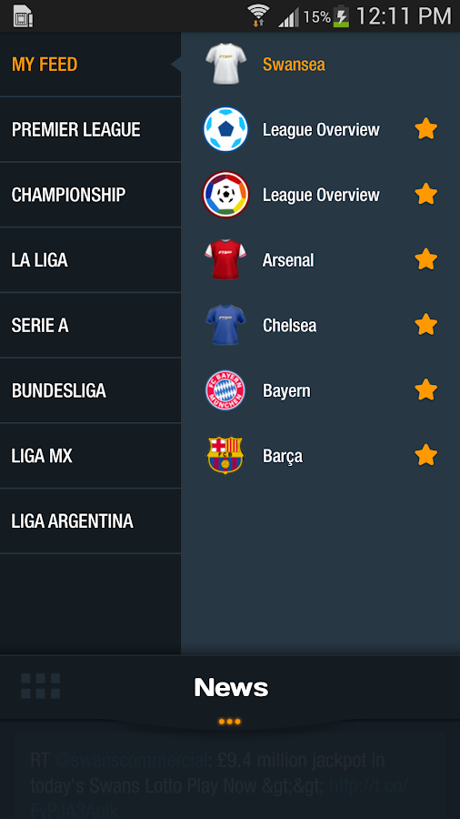 FTBpro - The Football News App - screenshot