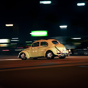 little bug by Alex Parlog - City,  Street & Park  Street Scenes