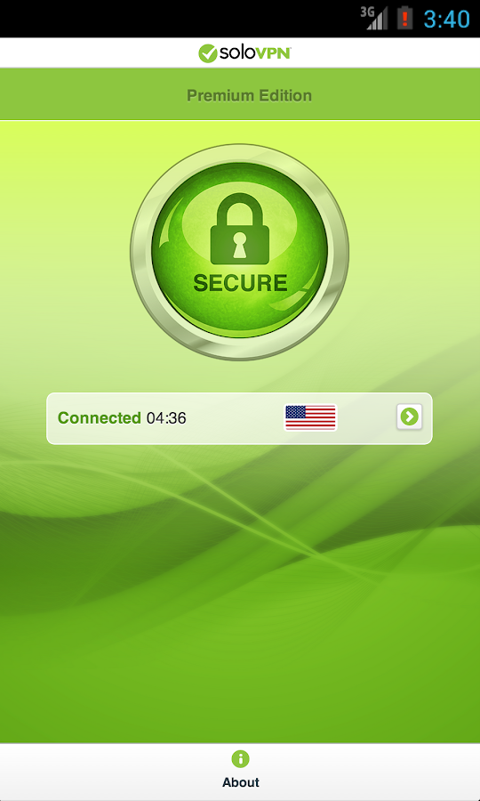 SoloVPN Anonymous, Safe & Fast- screenshot