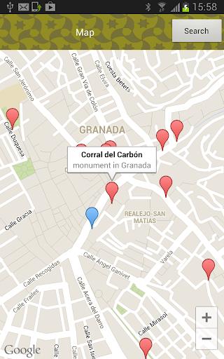 Audioguide Tourapp Granada