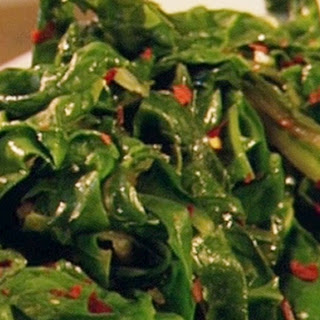 Spicy Swiss Chard Recipe