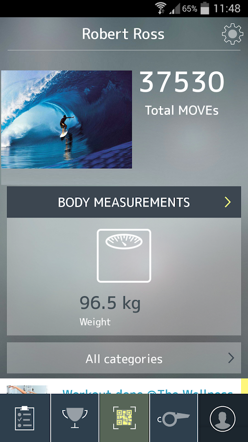 mywellness - screenshot