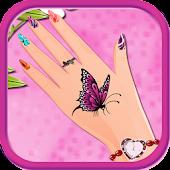 Manicure salon girls games