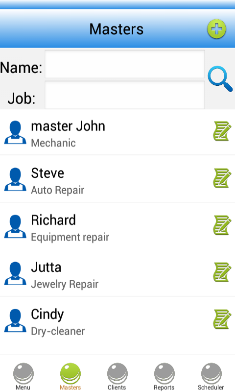 Repair Shop Software - screenshot
