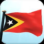 Timor-Leste Flag 3D Free