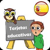 Tarjetas educativas en español