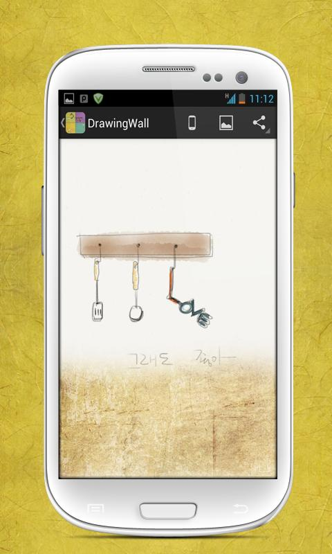 DrawingWall - Best Wallpaper - screenshot