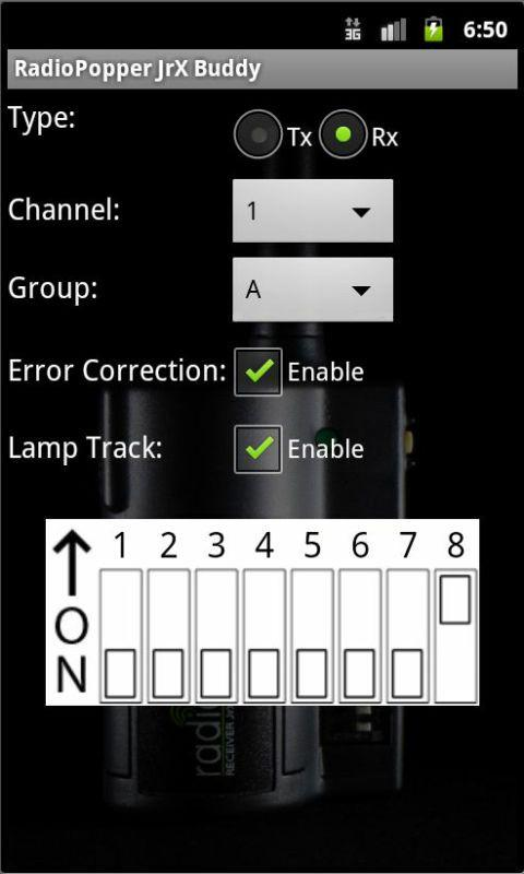 RadioPopper JrX Buddy - screenshot