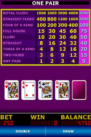 Double Down Stud Poker- screenshot