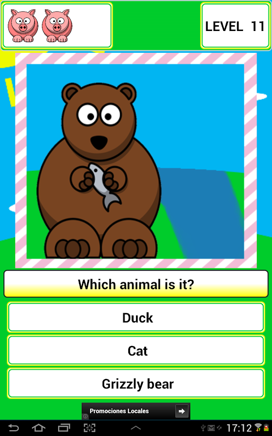 Learns the Animals colorful- screenshot