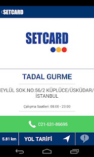 SETCARD Nerede- screenshot thumbnail