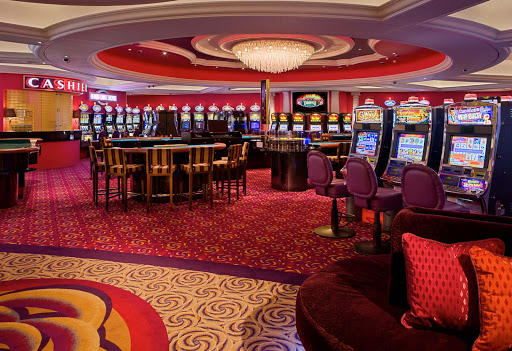 Enrichment-Entertainment-Crystal-Casino-on-Crystal-Serenity - The Crystal Casino provides plenty of excitement aboard the Crystal Serenity.