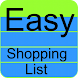 Easy Shopping List