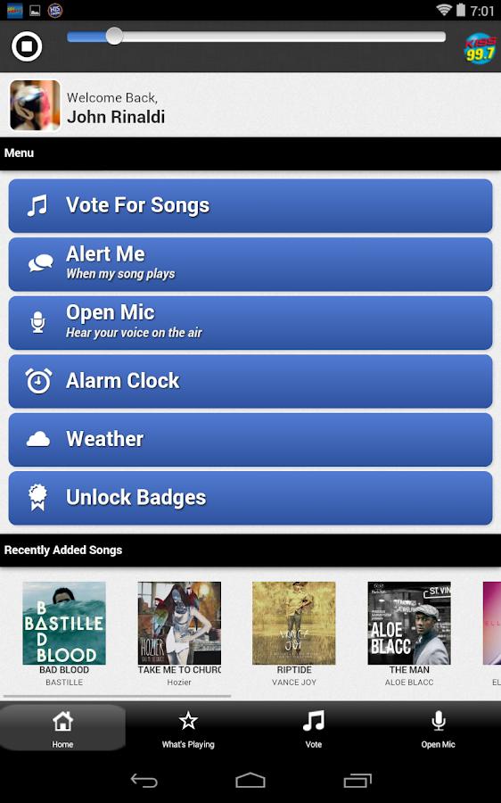 Springfield's 997 Kiss FM - screenshot