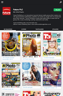 Issuu: A world of magazines - screenshot thumbnail