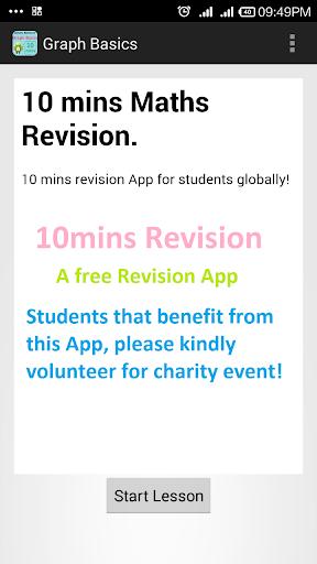 【免費教育App】10 mins Revision Graph Basics-APP點子