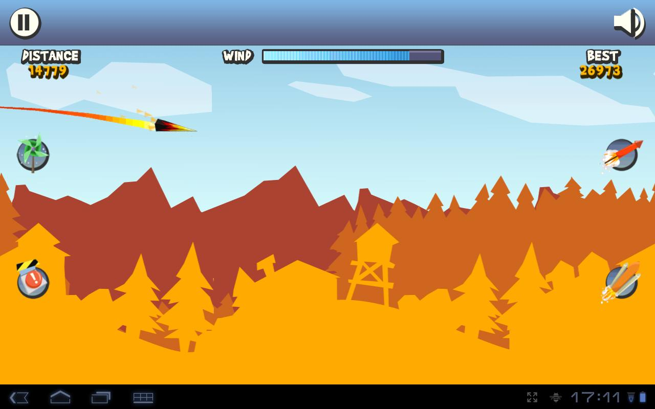 Paper Glider HD - screenshot