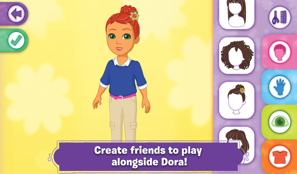 dora and friends android apps on google play. Black Bedroom Furniture Sets. Home Design Ideas