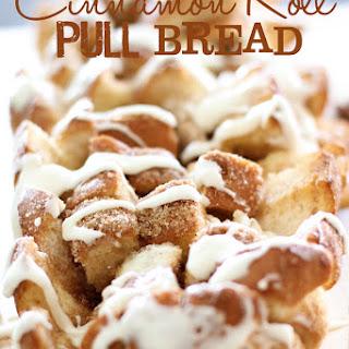 Cinnamon Roll Pull Bread