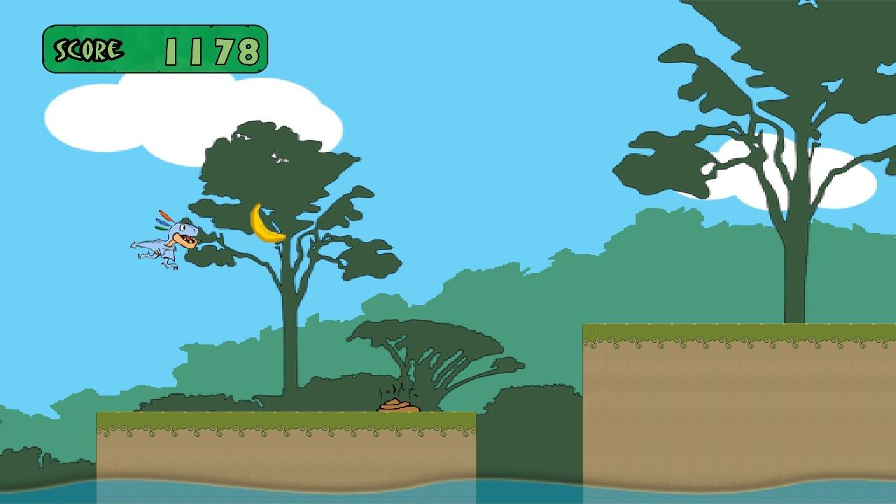 Dino Rush: Tap, Run & Jump- screenshot