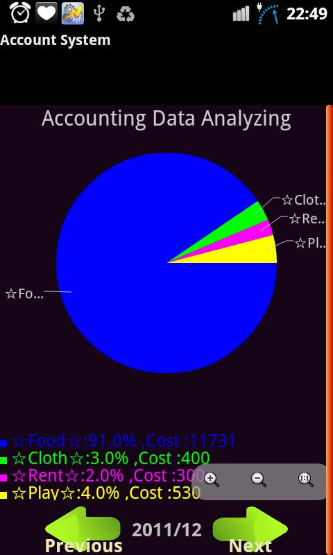 DrCat Accounting - screenshot