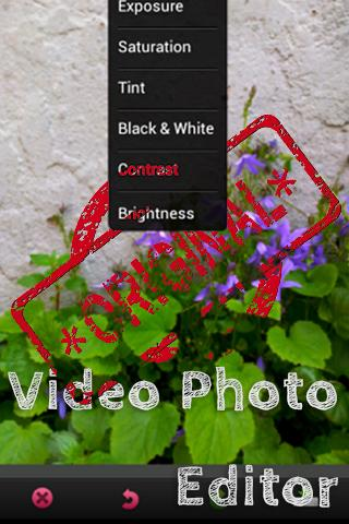 Video Photo Editor