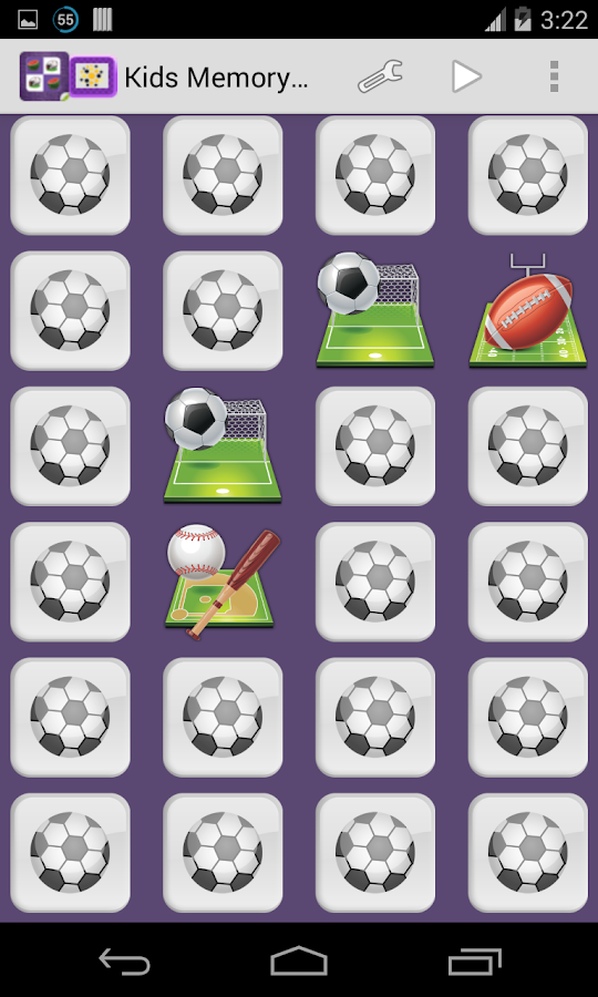 Memory Game HD Pro - screenshot