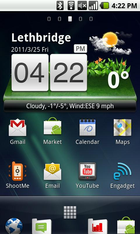 Xperia Arc Launcher - screenshot