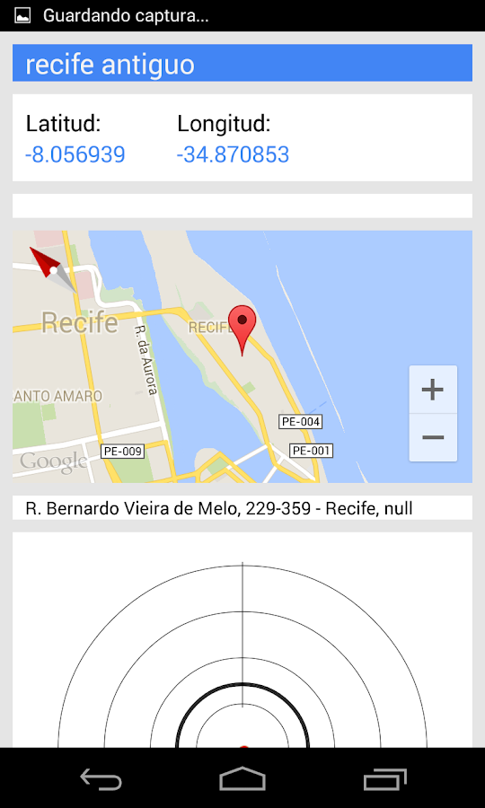 Latitude Longitude Location - screenshot