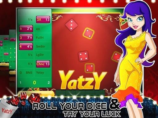 Yatzy Gambling Dice Game