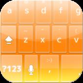 OrangeGlass KeyboardSkin