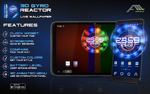 3D Gyro Reactor Pro