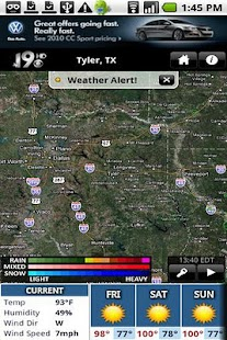KYTX Radar - screenshot thumbnail