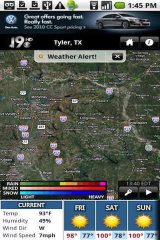 KYTX Radar- screenshot