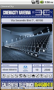 Webtic CinemaCity Ravenna- screenshot thumbnail