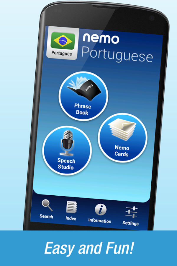 FREE Portuguese by Nemo- screenshot