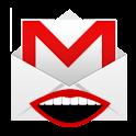 Gmail Label Speaker logo