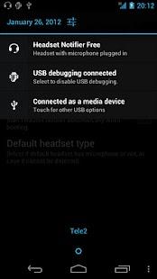 Headset Notifier Free- screenshot thumbnail