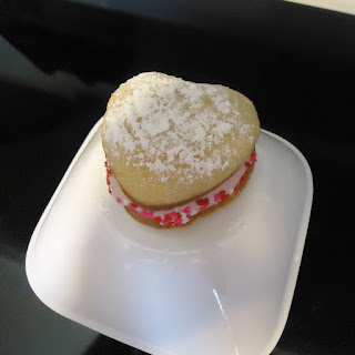 Vanilla Whoopie Pies with Raspberry Cream Filling