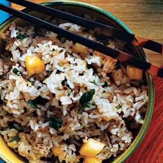 Ginger Pineapple Fried Rice