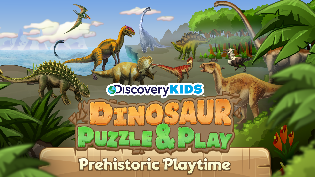 discovery kids dinosaur puzzle android apps on google play