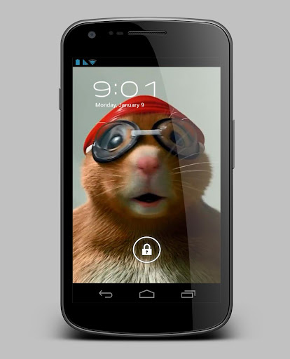 Hamster Athlete Live Wallpaper