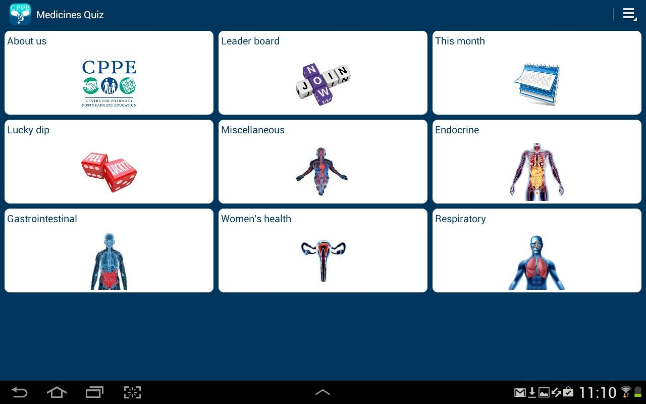 Medicine Quiz- screenshot