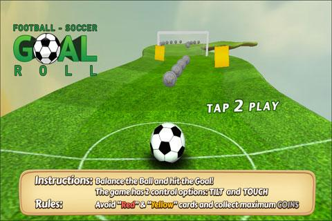Goal Roll 3D Fun Ball
