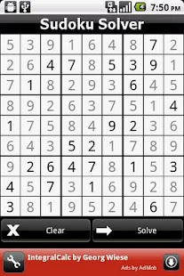 Sudoku Solver donate- screenshot thumbnail