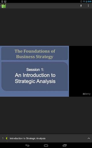 【免費教育App】Business Strategy Foundations-APP點子