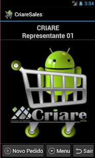 CriareSalesLite-Força de Venda - screenshot thumbnail