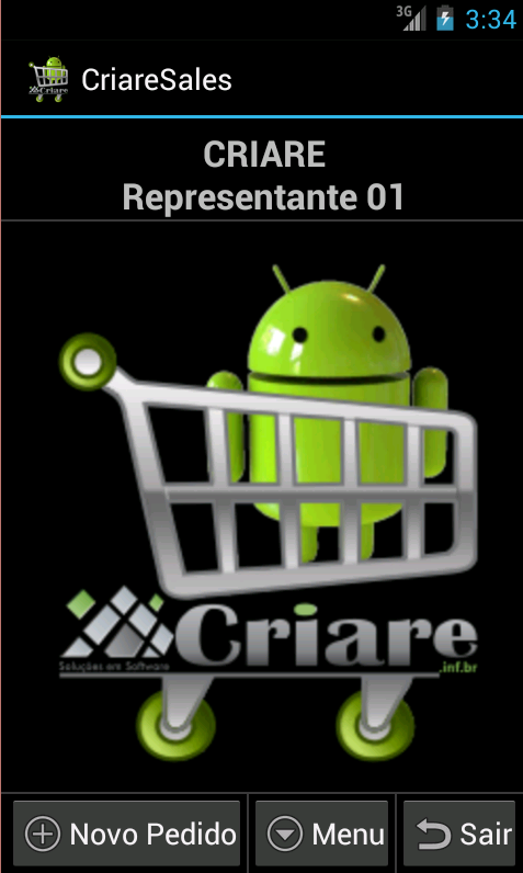 CriareSalesLite-Força de Venda - screenshot