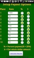 Screenshot of Poker Payout Limited